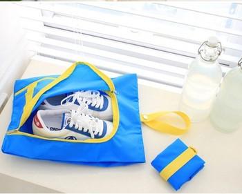 wholesale best gifts travelling Nylon shoes bag fashion storage bag 10 PC/LOT