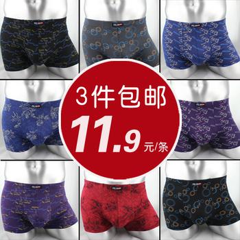 Male panties modal trunk men's flower panties male sexy panties ab panties