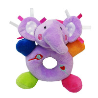 Carter's plush animal hand rattle lovely baby early development boy & girl toy