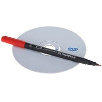 STAEDTLER S313-2 Permanent Red oiliness Marker pen for CD/DVD/BD/VCD( Not sell alone)