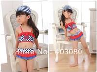 2013 newest 3 suit girl bikini,Children's swimsuit,kid swimsuit,baby  swimwear,1lot/5 set wholesales&Free shipping