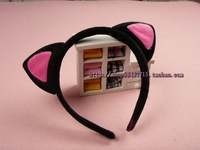 free shipping 6pcs/lot Hair accessory cat headband cat hair bands cat ears hair bands
