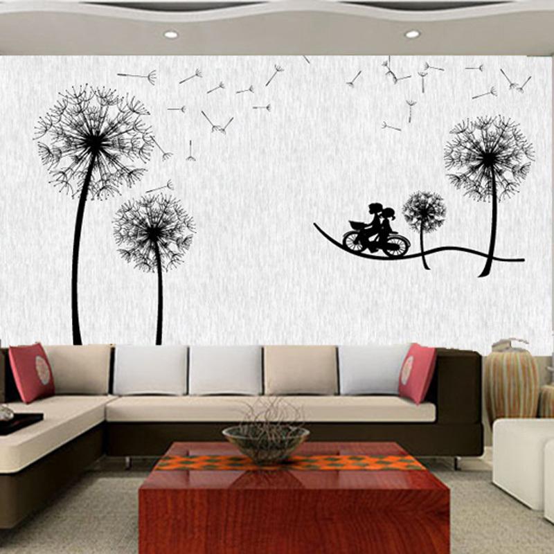 Pissenlit de papier peint magasin darticles promotionnels for Style de peinture murale