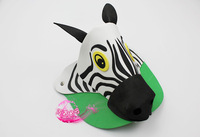 free shipping 10pcs/lot Eva hat cartoon sunbonnet parent-child props hat animal hair accessory cartoon hat