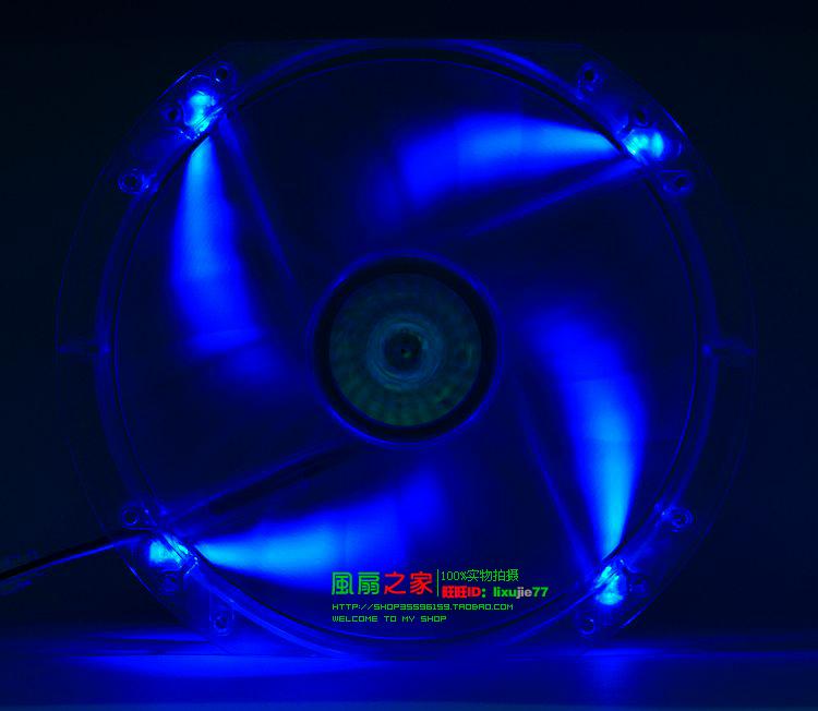 Spedizione gratuita coolmaster a23030-07cb-3mn-f1 23cm 20cm 230mm 12v 0.30a telaio ventola laterale ventilatore del ventilatore di grandi dimensioni mute led rosso