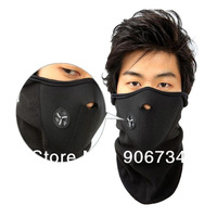 Black Color New  Bike Motorcycle Ski Snowboard Neck Warmer Face Mask Free Shipping
