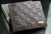 WBG0443 2013 new designer fashion style genuine+PU Leather bag brand men wallets handbag purse free shipping