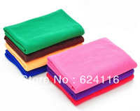 P11 10PCS 25*25cm Microfiber Cleaning Cloth Travel Cloths Hand Towels Microfibre Hair Drying Towel Ultra Absorbent