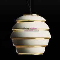 Free Shipping New Product Fashion Creative Alvar Aalto A332 Beehive Pendant Light Suspension Lamp Classical Pendant Lamp