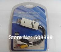 Ezcap USB Video Capture grabber USB 2.0 YPbPr Composite AV S-Video Video & Audio HD AV Capture Pro Freeshipping+Dropshipping