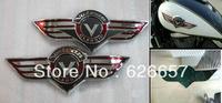 Motorcycle Gas Tank Emblem Badge Chrome Kawasaki Vulcan VN Classic
