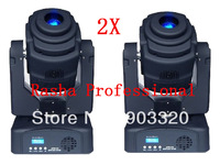 2X/LOT Factory Price American Luminus 60W LED Moving Head  Gobo Light- 60W  led moving head spot light