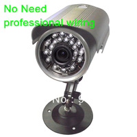 Hotselling All in one Convenient Waterproof Ourdoor/indoor IR night vision survilliance CCTV camera support  sd card upto 32GB