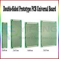Best pricres 20pcs Double Side Double-Side Universal PCB Board, 2x8 / 3x7 / 4x6 / 5x7cm WM