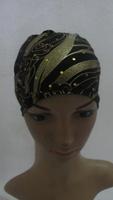 Muslim long Shawel with inner Cap Silk shawel new design islamic scarves Accept  53
