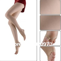 5pcs/lot free shipping 2013 new women fashion ultra thin 20D transparent open toe tights velvet pantyhose factory price