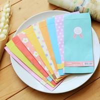 Kawaii fashion stationery wholesale dot stars gift blessing wedding greeting birthday thank you card paper envelope folder