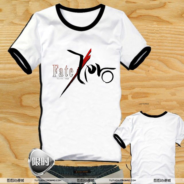 Fatet fate zero short-sleeve T-shirt clothes fashion t-shirt cartoon animation(China (Mainland))