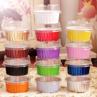 Circle aluminum foil roast small cake cup cake pudding cheese