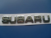 free shipping 10pcs Subaru car stickers subaru letter full