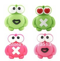 Wholesale price Frog shape usb flash memory stick 2GB 4GB 8GB free DHL EMS UPS shipping
