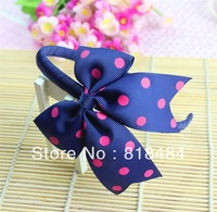 cute baby hairpins Fashion Headbands girl Satin hairclip ChildrenHeadbands kids hair band Free Shipping