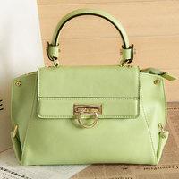 2013 women's handbag elegant formal fashion all-match fashion candy color cowhide handbag messenger bag