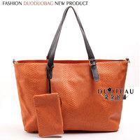 Fashion shoulder bag tote bag handbag serpentine pattern women's tote bag