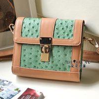 Color block women's patchwork handbag small fresh bag small bags messenger bag mini bag