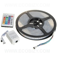 22.5W Waterproof RGB 150x5050 SMD LED Multicolored Light Strip (5-Meter/DC 12V),free shipping