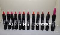 Wholesale 2013 high quality makeup cosmetics lipstick pen 6pcs Free shipping China Posts and air parcel