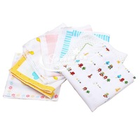 100% cotton gauze handkerchief bib fogle gauze towel baby towel single tier 35