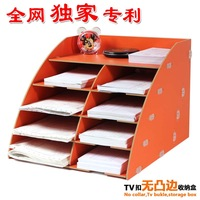 Storage box cabinet wool desktop storage rack bg18
