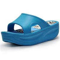 Summer new arrival women's wedges drag platform sandals platform swing slimming slippers shoes hole shoes sandals