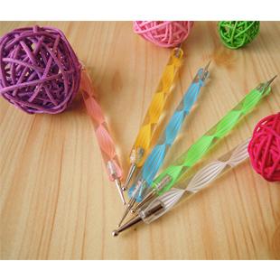 Nail art diamond pen interspersion pen toiletry kit French diamond glitter paillette crystal beetle