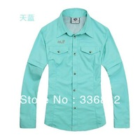 @ Free shipping Man breathe freely waterproof speed dry clothing and uv protection
