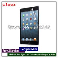 Free Shipping New Arrive LCD protective Screen Protector High Quality Screen Protector for ipad mini 10 Pcs/Lot