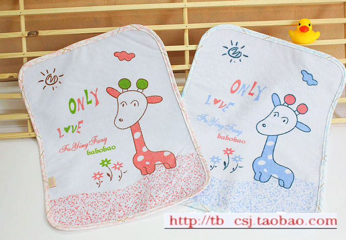 Baby changing mat leak child car pads 100% cotton towel small pads baby supplies(China (Mainland))