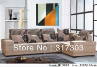 morden fabric L shape sofa, corner sofa , colorful sofa, factory wholesale, best quality,livingroom furniture 985