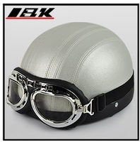 Free shipment bright black open face helmet IBK 2013 new product motorcycle helmet
