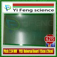 15*20 Double-sided Tinning Universal board 15x20cm thickness 1.6 good quality fiberglass HASL(Spray tin) PCB /experimental board