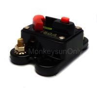 80A 100A 150A 200A or 250A 12V volt DC Low Voltage Circuit Breaker For Car/Auto Audio Amplifier System