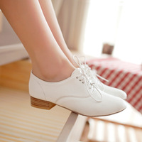 2013 spring shoes summer single shoes white work shoes young girl female shoes  Free shipping