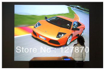 2000 Lumens Multimedia LCD Home Theater Projector 1080P 1080I HDMI HD TV WII HDTV PS3 DVD LED Drop Shipping