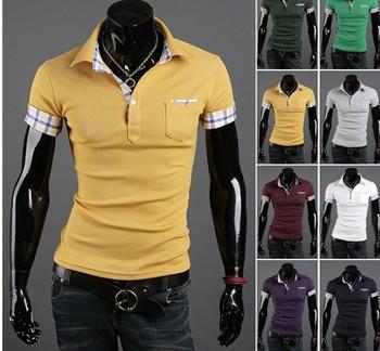 2013 Fashion Hot Sale Men T Shirts Casual T Shirts Blouses Short