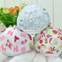 Tire cap baby hat newborn hat baby hat infant hat spring and autumn single tier tire cap 100% cotton