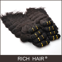 4pcs natural curly hair customize in 100% natural colors Human-made Deep curl 1b filipine hair extension best quality