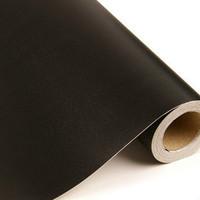 Free Shipping waterproof pvc wallpaper furniture renew black 10 meters long 60cm width per roll