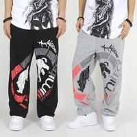 2013 spring and summer mens hiphop pants b-boy hip-hop pants mens basketball sweatpants