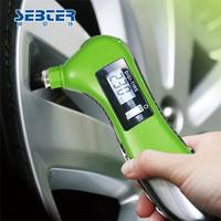 Sebter stainless steel car tire gauge car digital tire pressure table tyre pressure gauge precision